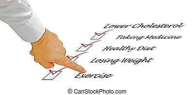 List to lower cholesterol