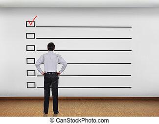 liste contrôle