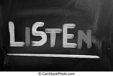 Listen Concept