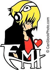 Listening Music Emo