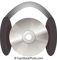 listening to a music cd