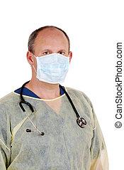 listo, cirujano, cirugía, menor