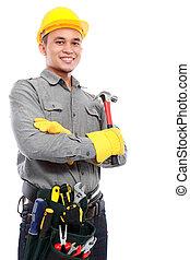 listo, trabajo, trabajador