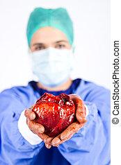 listo, trasplante del corazón