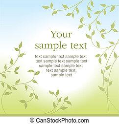 listoví, grafické pozadí