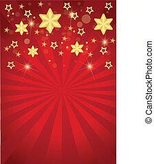 listras, estrelas, natal