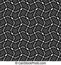 listras, padrão, seamless, experiência., vetorial, pretas, geomã©´ricas, branca