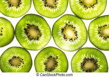 lit, kiwi, espalda