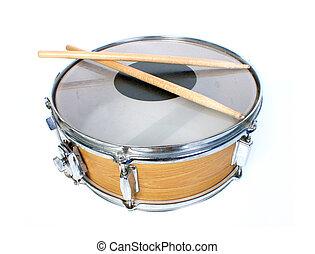liten trumma, isolerat