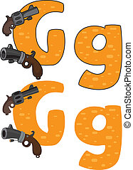 litera g, armata