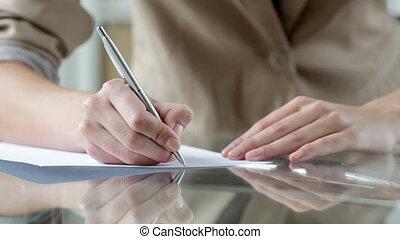 litera pisanie