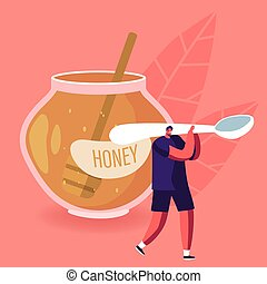 litera, zdrowy, czysty, sweeteners, nosić, słodki, płaski, ...