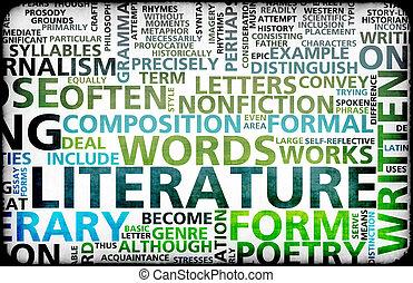 Literature Modern Education Background as a Art