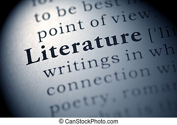 Literature - Fake Dictionary, Dictionary definition of the...