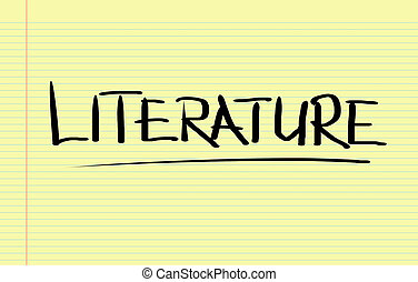 literatuur, concept