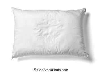 literie, blanc, sommeil, oreiller