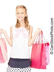 litet, shopper