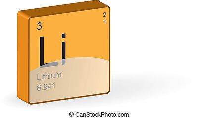lithium, element