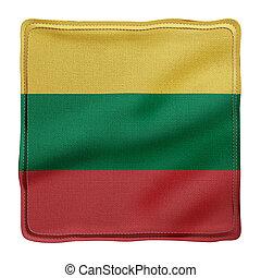 Lithuania 3d flag