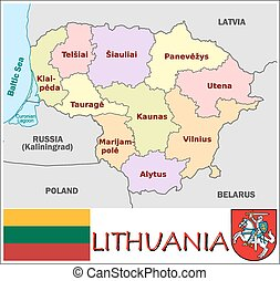 Lithuania administrative divisions