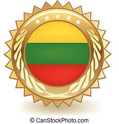 Lithuania Badge