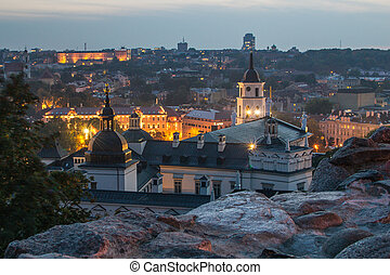 Vilnius from Upper Castle