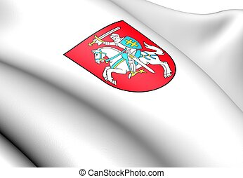 Lithuania Coat of Arms. Close Up.