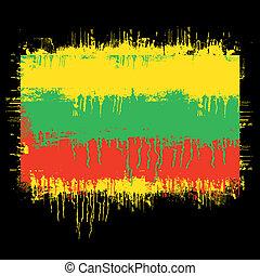 lithuania vlag