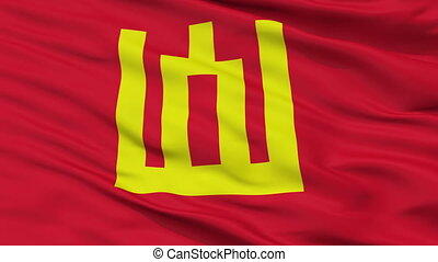 Lithuanian Army Flag Closeup Seamless Loop - Lithuanian Army...