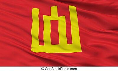 Lithuanian Army Flag Closeup View - Lithuanian Army Flag, ...