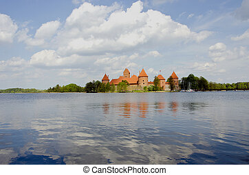 lithuanian historical castle Trakai