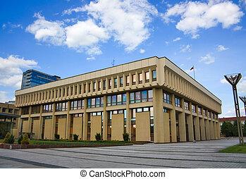 Lithuanian parliament, the Seimas