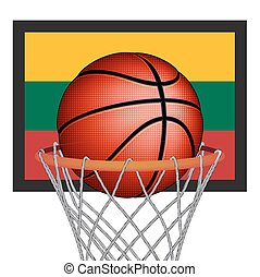 Lithuanians basket ball