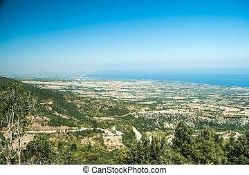 Litichoro, Greece Landscape