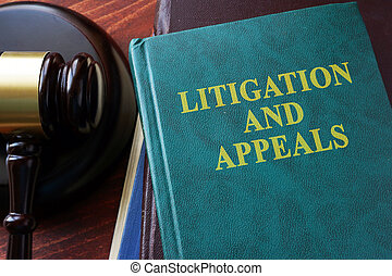 Litigation and appeals concept.