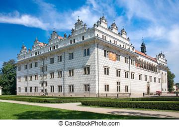 litomysl, renesans, czeski, (unesco), republika, zamek