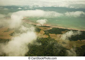 litoral, guinea, de, ecuatorial