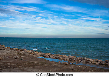 litoral, vista