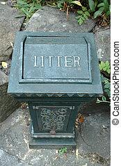 Litter Bin