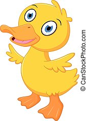 Littke duck cartoon
