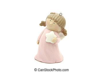 Little angel christmas tree toy