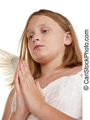 little angel girl