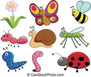 Little animal - Vector illustration of little animals