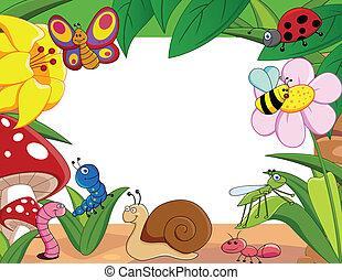 Little animas - Vector illustration of little animals