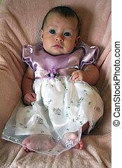 Little Baby Girl in Dress