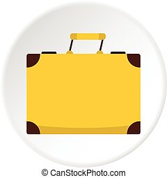 Little bag icon circle