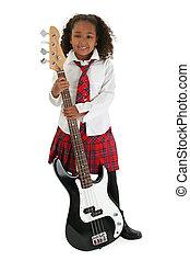 Little Bass Player