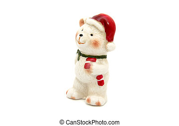 Little bear christmas tree toy