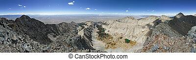 Little Bear Peak Summit Panorama