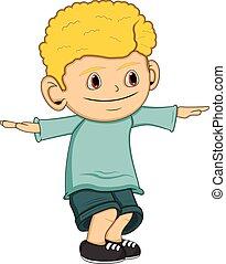 Little boy cartoon